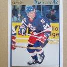 1991-92 O-Pee-Chee Premier #146 Darrin Shannon Winnipeg Jets