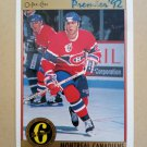 1991-92 O-Pee-Chee Premier #157 Eric Desjardins Montreal Canadiens