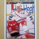 1991-92 O-Pee-Chee Premier #164 Mike Gartner New York Rangers