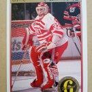 1991-92 O-Pee-Chee Premier #175 Tim Cheveldae Detroit Red Wings