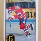 1991-92 O-Pee-Chee Premier #181 Mathieu Schneider Montreal Canadiens