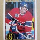 1991-92 O-Pee-Chee Premier #184 Sylvain Turgeon Montreal Canadiens