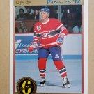1991-92 O-Pee-Chee Premier #188 Alain Cote Montreal Canadiens