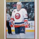 1991-92 O-Pee-Chee Premier #195 Steve Thomas New York Islanders