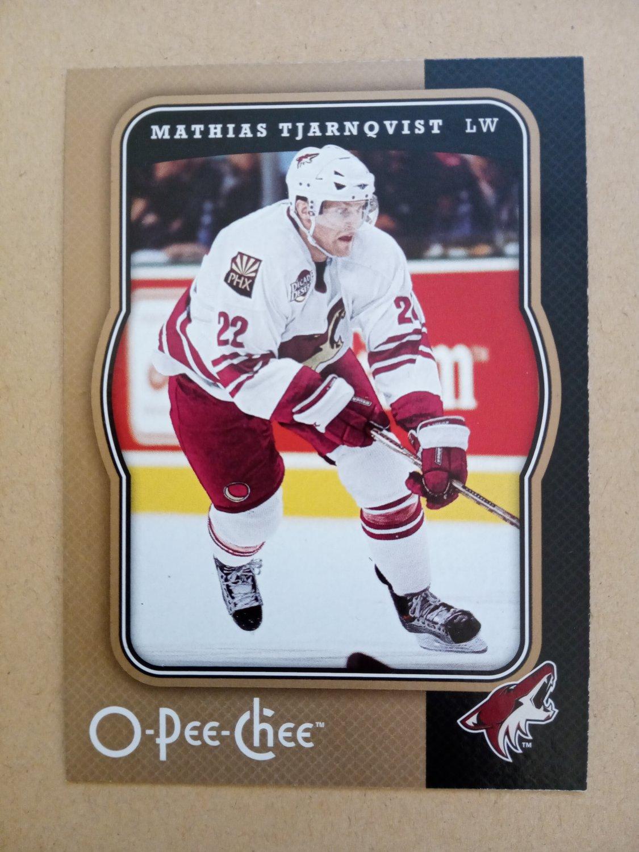 2007-08 O-Pee-Chee #369 Mathias Tjarnqvist Phoenix Coyotes