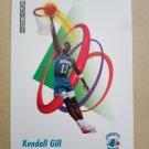 1991-92 SkyBox #27 Kendall Gill Charlotte Hornets