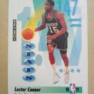 1991-92 SkyBox #299 Lester Conner Milwaukee Bucks