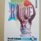 1991-92 SkyBox #318 Derrick Coleman New Jersey Nets