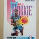 1991-92 SkyBox #321 Kendall Gill Charlotte Hornets