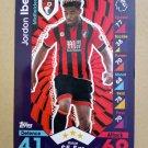 2016-17 Topps Match Attax Premier League #12 Jordon Ibe AFC Bournemouth