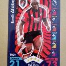 2016-17 Topps Match Attax Premier League #15 Benik Afobe AFC Bournemouth