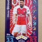 2016-17 Topps Match Attax Premier League #34 Olivier Giroud Arsenal
