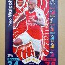 2016-17 Topps Match Attax Premier League #36 Theo Walcott Arsenal
