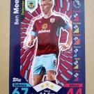 2016-17 Topps Match Attax Premier League #41 Ben Mee Burnley
