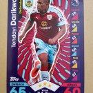 2016-17 Topps Match Attax Premier League #43 Tendayi Darikwa Burnley