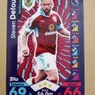 2016-17 Topps Match Attax Premier League #49 Steven Defour Burnley