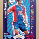 2016-17 Topps Match Attax Premier League #80 James Tomkins Crystal Palace