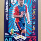 2016-17 Topps Match Attax Premier League #82 James McArthur Crystal Palace
