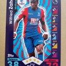 2016-17 Topps Match Attax Premier League #83 Wilfried Zaha Crystal Palace