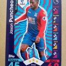 2016-17 Topps Match Attax Premier League #86 Jason Puncheon Crystal Palace