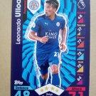 2016-17 Topps Match Attax Premier League #141 Leonardo Ulloa Leicester City