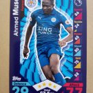 2016-17 Topps Match Attax Premier League #142 Ahmed Musa Leicester City