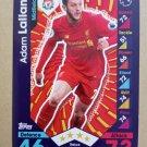 2016-17 Topps Match Attax Premier League #157 Adam Lallana Liverpool