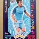 2016-17 Topps Match Attax Premier League #175 David Silva Manchester City