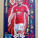 2016-17 Topps Match Attax Premier League #187 Daley Blind AR Manchester United