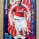 2016-17 Topps Match Attax Premier League #203 Ben Gibson Middlesbrough