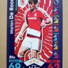 2016-17 Topps Match Attax Premier League #206 Marten De Roon Middlesbrough