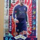 2016-17 Topps Match Attax Premier League #218 Fraser Forster STAR Southampton