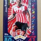 2016-17 Topps Match Attax Premier League #221 Jose Fonte CAPT Southampton