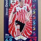2016-17 Topps Match Attax Premier League #227 Steven Davis Southampton