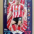 2016-17 Topps Match Attax Premier League #257 John O'Shea CAPT Sunderland