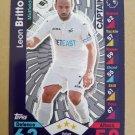 2016-17 Topps Match Attax Premier League #279 Leon Britton CAPT Swansea City
