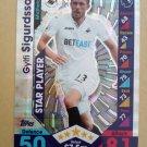2016-17 Topps Match Attax Premier League #281 Gylfi Sigurdsson STAR Swansea City