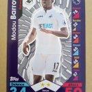 2016-17 Topps Match Attax Premier League #287 Modou Barrow Swansea City