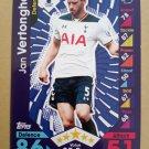 2016-17 Topps Match Attax Premier League #293 Jan Vertonghen Tottenham Hotspur