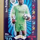 2016-17 Topps Match Attax Premier League #326 Ben Foster West Bromwich Albion