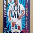 2016-17 Topps Match Attax Premier League #329 Gareth McAuley West Bromwich Albion