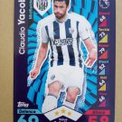 2016-17 Topps Match Attax Premier League #332 Claudio Yacob West Bromwich Albion