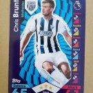 2016-17 Topps Match Attax Premier League #333 Chris Brunt West Bromwich Albion