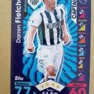 2016-17 Topps Match Attax Premier League #334 Darren Fletcher CAPT West Bromwich Albion