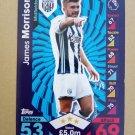 2016-17 Topps Match Attax Premier League #337 James Morrison West Bromwich Albion