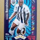 2016-17 Topps Match Attax Premier League #342 Saido Berahino West Bromwich Albion
