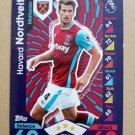 2016-17 Topps Match Attax Premier League #351 Havard Nordveit West Ham United