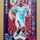 2016-17 Topps Match Attax Premier League #363 Andre Gray Burnley Away Kit