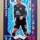 2016-17 Topps Match Attax Premier League #366 Aaron Lennon Everton Away Kit