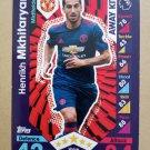 2016-17 Topps Match Attax Premier League #371 Henrikh Mkhitaryan Manchester United Away Kit